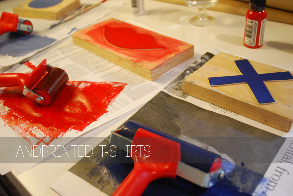 Behind the Scenes Handprinting