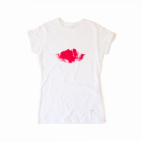 Handprinted Lips T-Shirt