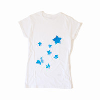 Handprinted Stars T-Shirt