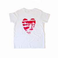 Handprinted Heart T-Shirt
